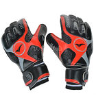 Pro Adult Thick Latex Soccer Goalkeeper Glove Keeper Finger Protection Size 9