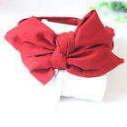 Women's Big Bowknot Ribbon Hair Accessory Rabbit Ear Headband Bow Head Band Cute