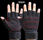 Weight Lifting Gym Training Sports Gloves Wrist Wrap Workout Exercise Men Gloves