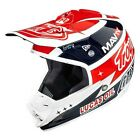 Troy Lee 2015 Adults SE3 Team Lucas Oil Carbon MX Motocross Helmet - White