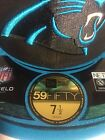 New Era Carolina Panthers Fitted Cap Hat 59fifty NFL Authentic Black 5950