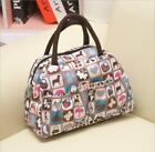 Waterproof Mixed Print Lunch Bags Hand Carry Boxes Package Women Tote Bag LJ