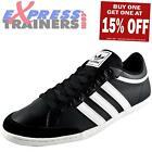 Adidas Originals Mens Plimcana Low Casual Leather Trainers Black *AUTHENTIC*