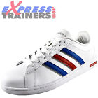 Adidas Mens Derby Casual Classic Lifestyle Trainers White *AUTHENTIC*