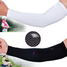 Sale Pair Arm Sleeves Cover UV Block Sun Protection Sport Stretch Bicycle Riding