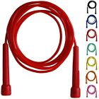 Skipping Rope Adult 9 foot Long Nylon Plastic Handles Gym Fitness Training