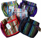 FAIR TRADE COTTON GHERI BEACH TRAVEL HIPPY BOHO FESTIVAL SHOULDER BAG & PURSE