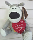 Boofle the Cute Knitted Puppy Dog Girlfriend Boyfriend Birthday Anniversary Gift