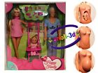 STEFFI LOVE HAPPY FAMILY PREGNANT DOLL BARBIE SIMBABABY STROLLER NEW SET KIT