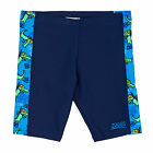 Zoggs Snorkel Spliced Mini Jammer 18  Boys  Swimming Shorts - Navy