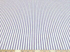 Discount Fabric Top Weight Cotton Shirting Apparel Blue and Red Stripe 002CT