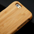 For iPhone6/6plus/5/5S Real Natural Wood Wooden Bamboo Hard Back Case Cover