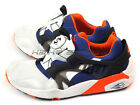 Puma Disc Blaze 3D Fast Fwd 2 White-Limoges-Vermillion Orange Fashion 358910 01