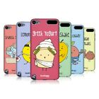 HEAD CASE DESIGNS YUMMY DOODLE HARD BACK CASE FOR APPLE iPOD TOUCH 6G 6TH GEN