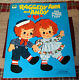 RAGGEDY ANN AND ANDY   Fun Fashions for Paper Dolls   Whitman Book  1974  UNCUT