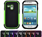 Shock Proof Hybrid Armour Builder Case Cover For Samsung Galaxy S3 Mini i8190