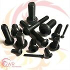 "10-32 1/4"" 5/16"" 3/8"" UNF Socket Button Head Screws Allen Bolt Self Colour Black"