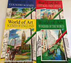 World of Art Adult Colouring Book Country Scenes England Wonders World Cottages