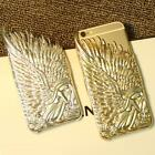 Golden Silver 3D Fashion Angel Wings Back Case Cover for iPhone 6 4.7/ 6 Plus