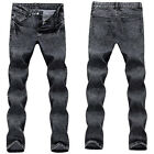 2015 Classic Men Stylish Designed Straight Slim Fit Trousers Casual Jeans Pants