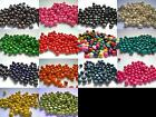 Qty 200 - 8mm x 6mm Round Wooden Beads - Multi Colour Listing