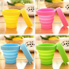 Portable Silicone Folding Cup Telescopic Collapsible Outdoor Travel Hot FM