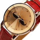 Enduring New Dress Table Watch British PU Leather Belt Quartz Watches FMUS