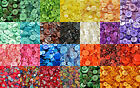 20g/50g/100g RANDOM MIXED ROUND RESIN BUTTONS, ASSORTED ARTS AND CRAFTS BUTTON,
