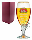 Personalised 1 Pint STELLA ARTOIS Branded Beer Glass Chalice Usher Wedding