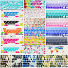 Gel Durable Silicon Keyboard Key Cover Decal Pattern Skin Soft Shell for Macbook