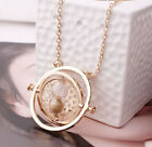 Fashion Harry Potter Time Turner Necklace Hermione Granger Rotating  Gift