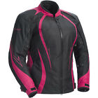 Cortech Womens LRX Series 3 Textile Motorcycle Jacket Pink