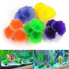 Fake Artificial Coral Plant Soft Disc Ornament Decoration For Aquarium Fish Tank