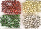 Jingle Bells Christmas Crafts Red Gold Green Silver 1/2