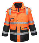 Huski Venture Hi Vis Waterproof Jackets 4 In 1 Huski Jackets(918106)