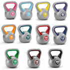 Vinyl Kettlebells 2kg -14kg Kettlebell Strength training home gym workout