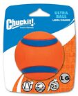 CHUCKIT! ULTRA BALL - Sm/Med/Lg/XL High Bounce Floats Fetch Use Launcher Dog Toy