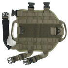 OUTDOOR Military Tactical DOG VEST HARNESS MOLLE CANINE CHARGE Harness NEEW