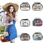 Korean Womens PU Leather Messenger Crossbody Satchel Handbag Shoulder Bag New