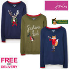 Joules Festive Ladies Jumper (T) **BNWT** **FREE UK Shipping**