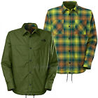 THE NORTH FACE Mens 2016 Scallion Green FORT POINT FLANNEL Reversible JACKET