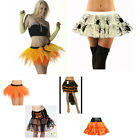 Ladies Adult Halloween Skirt Fancy Dress Party Trick Or Treat Hen Party Festival