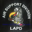 LAPD Los Angeles Police Air Support Division T-Shirt Buzzard Logo Tee NEW on Ebay