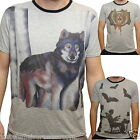 WOLF BATS  T SHIRT MENS EMO ALTERNATIVE