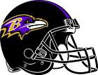 Baltimore Ravens cornhole board decal 1 set (2 decals) on eBay