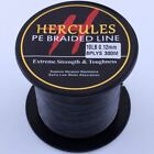 Hercules Black PE 10-300LB Spectra 100/300/500/1000M Dyneema Braid Fishing Line