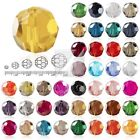 100pcs Crystal Round Beads 6mm Facted Beads fit Jewelry Making DIY