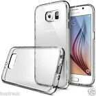 Samsung Galaxy S6 Ultra Thin Crystal Clear Soft Transparent Case Cover + Screen