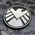 Aufnäher Patch Klett Shield Avengers Tactical Tac Prepper EDC Marvel Airsoft TacErkennungsmarken - 37391