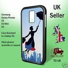Mary Poppins silhouette Flying Image Samsung Galaxy Case Phone Cover